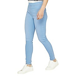 Dorothy Perkins - Petite ice blue eden jeggings