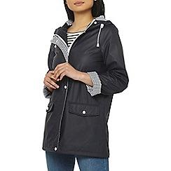 Dorothy Perkins - Petite navy raincoat