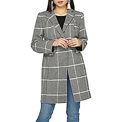 Dorothy Perkins - Petite multi coloured checked coat