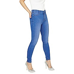 Dorothy Perkins - Petite bright blue frankie jeans