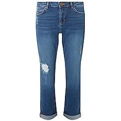 Dorothy Perkins - Petite indigo boyfriend jeans