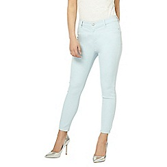 Dorothy Perkins - Petite chambray ankle grazer frankie jeans