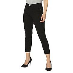 Dorothy Perkins - Petite black frankie ankle grazer jeans