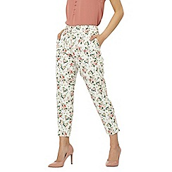 Dorothy Perkins - Petite multi coloured ditsy floral print trousers
