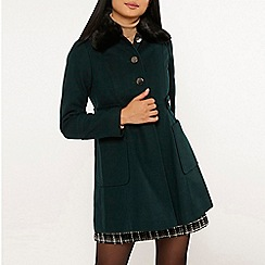 Dorothy Perkins - Petite forest dolly coat