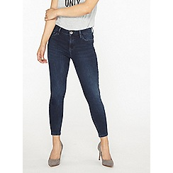 Dorothy Perkins - Petite blue darcy ankle grazer jeans