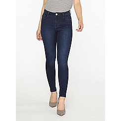 Dorothy Perkins - Petite rich blue shaping jeans