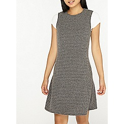Dorothy Perkins - Petite black fit and flare dress