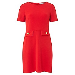 Dorothy Perkins - Petite red fit and flare dress