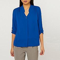Dorothy Perkins - Petite Cobalt Blue Shirt