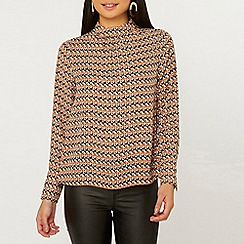 Dorothy Perkins - Petite Multi Colour Striped Rosie Top