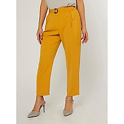 Dorothy Perkins - Yellow Crepe Trousers