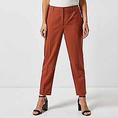 Dorothy Perkins - Petite Tabbacco Naples Ankle Grazer Trousers