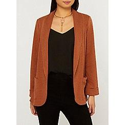 Dorothy Perkins - Petite Terracotta Jersey Jacket