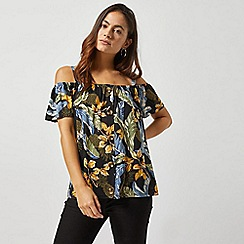 Dorothy Perkins - Petite Floral Jersey Top
