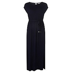 Dorothy Perkins - Petite navy plain maxi dress
