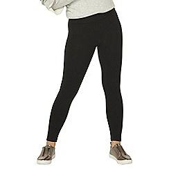Dorothy Perkins - Petite black cotton leggings