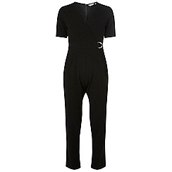 Dorothy Perkins - Petite black d-ring jumpsuit
