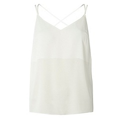 Dorothy Perkins - Petite cross back camisole top