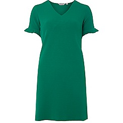 Dorothy Perkins - Petite green v-neck shift dress