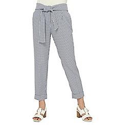 Dorothy Perkins - Petite blue gingham trousers