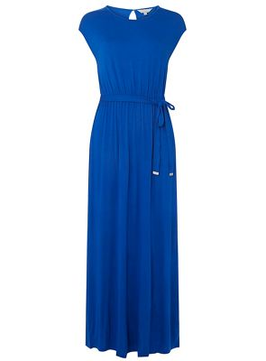 Dorothy Perkins   Petite Cobalt Plain Maxi Dress by Dorothy Perkins