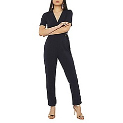 Dorothy Perkins - Petite navy d-ring jumpsuit