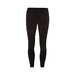 Dorothy Perkins - Petite black bengaline pull on trousers