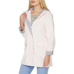 Dorothy Perkins - Pink button front raincoat