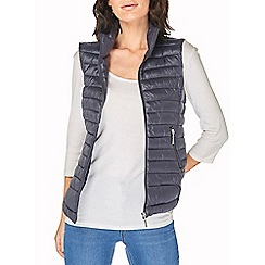 Dorothy Perkins - Navy pack puffer gilet jacket