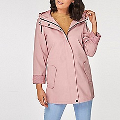 Dorothy Perkins - Pink Spot Lined Raincoat
