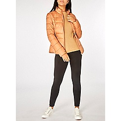 Dorothy Perkins - Copper pack puffer jacket