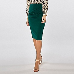 Dorothy Perkins - Ruched pencil skirt