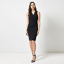 Dorothy Perkins - Black Tab Detail Dress