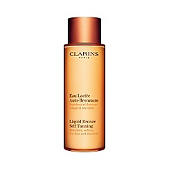 Clarins - Liquid bronze self tanning for face and décolleté 125ml
