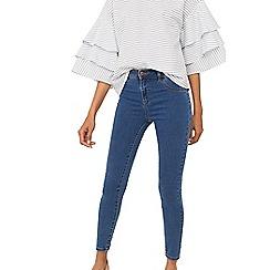 Mango - Blue 'Jane' skinny fit jeans