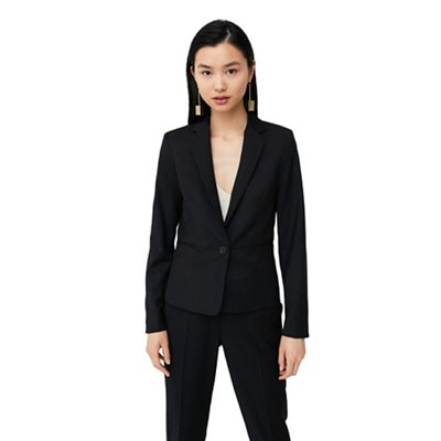 Mango   Black 'boreal' Suit Blazer by Mango