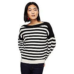 Mango - Beige and black striped 'Mimosa' sweater