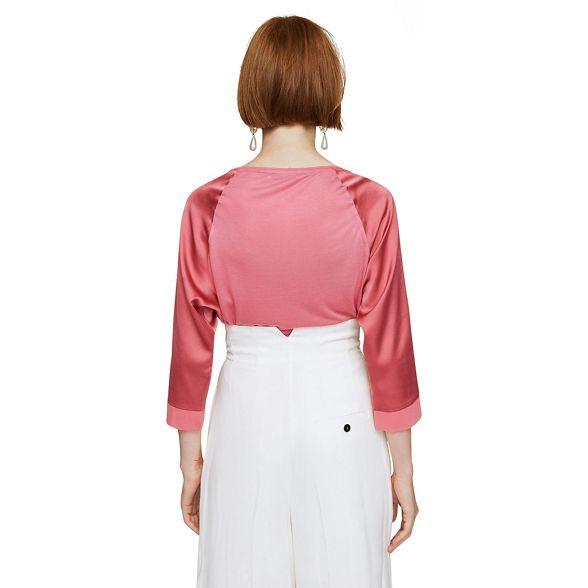 Mango Mango Pink t shirt 'Chembi' Pink qgwzxfY7