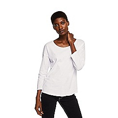 Mango - White 'Saco' t-shirt