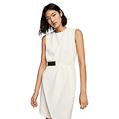 Mango - Off white 'Venecia' mini dress