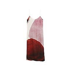 Mango - Multi-coloured 'Combo' v-neck strap dress