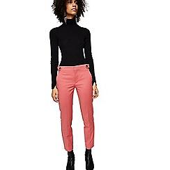 Mango - Pink 'Alano' cropped trousers