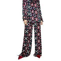 Mango - Multi coloured geometric print 'Agnes' trousers