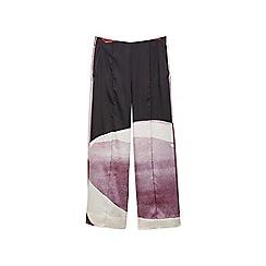 Mango - Multi-coloured 'Combo' loose fit trousers