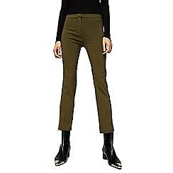 Mango - Khaki 'Sidney' trousers