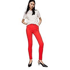 Mango - Coral 'Soho' jeans