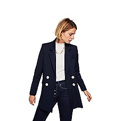Mango - Blue 'Trafic' tailored blazer