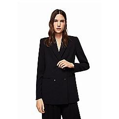 Mango - Black 'City' structured blazer