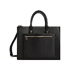 Mango - Black 'Dora' shopper bag